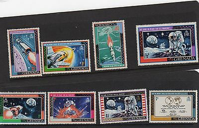Grenada 1969 First Man on the Moon     MNH