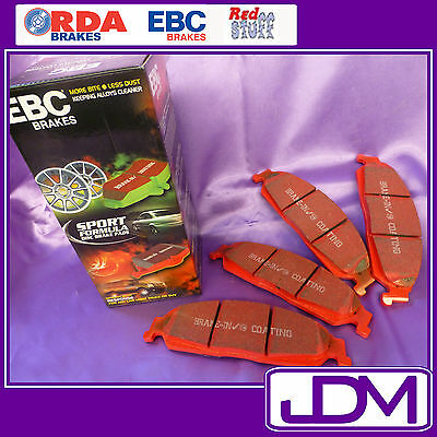 EBC Redstuff Front & Rear Brake Pads to fit VT VX VY VU Commodore FRONT & REAR