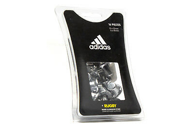 adidas Unisex Aluminium 15mm & 18mm Rugby Studs Boots Trainers Sports