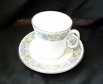 """Royal Stafford Cup & Saucer """" Fascination """"."""