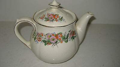 "Royal Doulton Teapot - ""japonica"" Pattern D6273 -Used For Display"