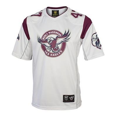 Manly Sea Eagles 2016 NRL Mens NFL Gridiron Jersey BNWT Rugby League Clothing