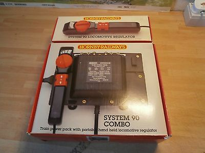 HORNBY SYSTEM 90 TRANSFORMER  with 2 CONTROLLERS