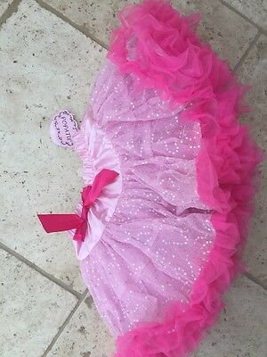 NEW TUTU WITH TAGS girls tutu skirt PINK AND VERY PRETTY