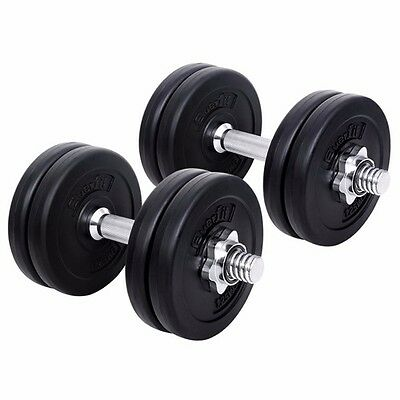 15 KG Adjustable Dumbbell Set Gym Equipment Muscles Weights