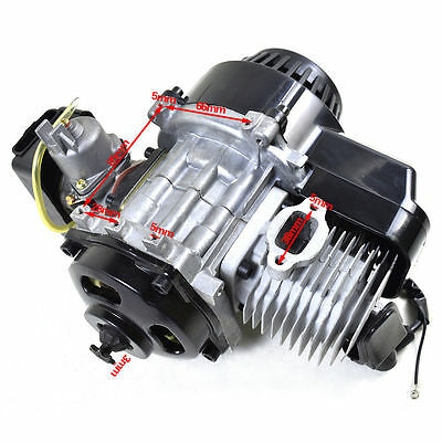 2 Stroke Racing Engine Motor 47cc 49 50cc Pocket Rocket Dirt Bike Pull Start