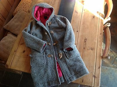 mini boden wool & padded duffle coat age 9-10 years, lovely