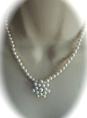 Japanese Akoya Pearl Brooch/pendant.. Mikimoto Necklace Is A Separate Listing Jj