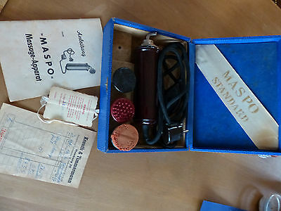 MASPO Massage-Apparat von 1960 Antik