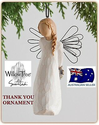 THANK YOU ANGEL ORNAMENT Demdaco Willow Tree Figurine By Susan Lordi NEW IN BOX