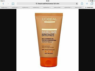 Loreal Sublime Bronze Fair Skin