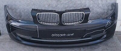 BMW 1 Series E87 Complete Front Bumper Trim Panel Quarzblau Quartz Blue Metallic
