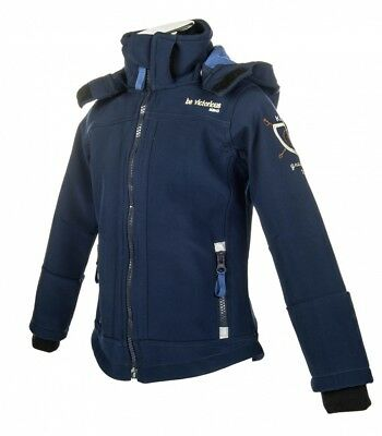 Kinder Softshelljacke King Little Sister dunkelblau NEU