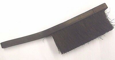 """British Rail Steam Loco'S 17"""" Handbrush With Handle In A Used Condition"""