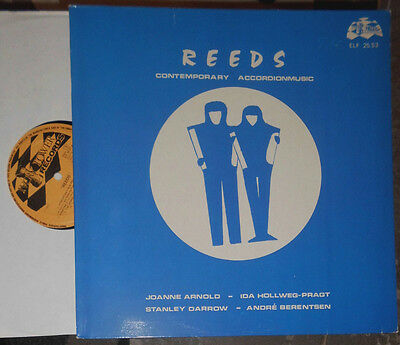 Reeds Contemporary Accordion Music Joanne Arnold Ida Hollweg-Pragt Berentsen Lp