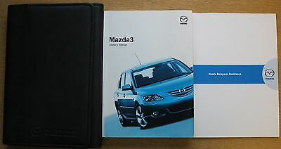 Mazda 3 Handbook Owners Manual Wallet 2003-2006 Pack 11521