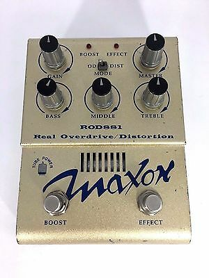 Maxon ROD881 Real Overdrive / Distortion Guitar Effect Pedal Made in Japan.