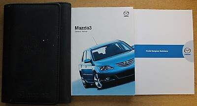 Mazda 3 Handbook Owners Manual Wallet 2003-2006 Pack 12775