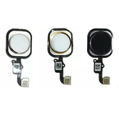 Home Button Flex Touch ID Sensor Assembly Replacement For iPhone 5S 6 6 Plus