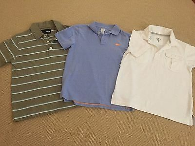 Lot of Boys Golf Shirts, Old Navy, Crewcut, and Hurley Size 6-7