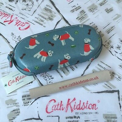 Genuine CATH KIDSTON Stanley Dog Glasses Case & Cleaning Cloth NEW +Gift Bag