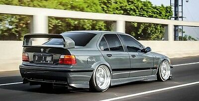 BMW E36 SALOON 4 dr M3 GT2 SPOILER WITH RISERS