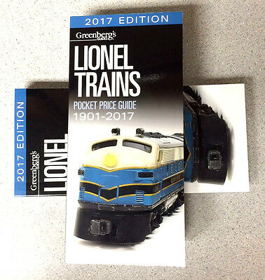 2017 Greenberg's Price Guide...for Lionel Trains...free Shipping...mint!.....u3