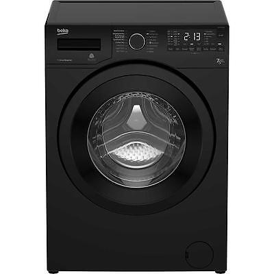 Beko Washer Dryer, Free Standing 7Kg 1400 Spin-Black (WDR7543121B) A+++ energy