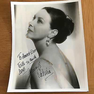 Patricia Neal Original Hand Signed Autographed 8x10 photo
