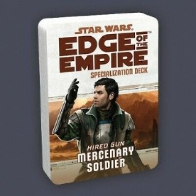 Star Wars Edge of the Empire Specialization Deck Mercenary Soldier Brand New