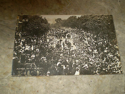 middlesex brentford allies rp real photo postcard