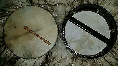 """16"""" Tunable bodhran drum with beater and basic case"""