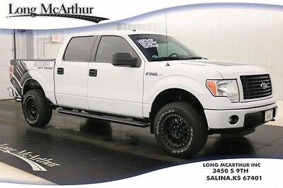2014 Ford F-150 ROUSH SUPERCHARGED SUPERCREW 570HP  4X4 LOW MILES ROUSH RT570 PERFORMANCE PHASE 2 SUPERCHARGER  4WD