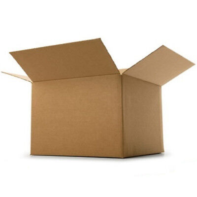 Cardboard Postage Box Postal Packaging Royal Mail Small Parcel Post 10 x 10 x 6""