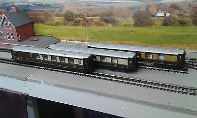 Rake Of 3 Hornby Gwr Pullman Coaches Oo Gauge
