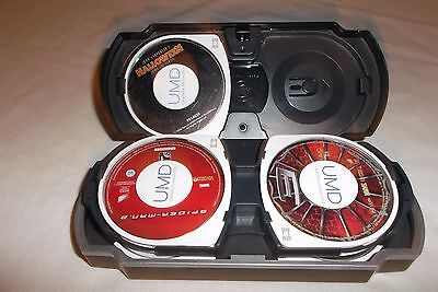 Halloween + 8 UMD Lot (Sony PSP) Spider-Man, Office Space, Family Guy, Hackers