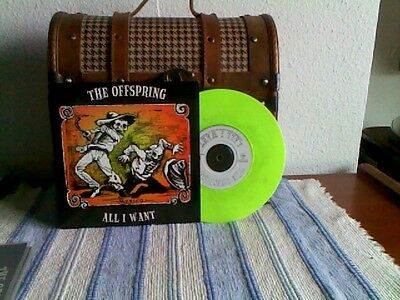 "The Offspring - All I Want / Rare 7"" Green Vinyl Epitaph Europe 1997. (New) Mind"