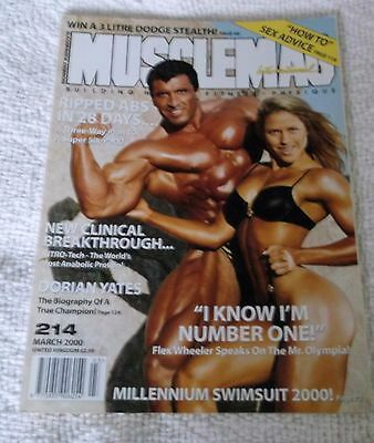 MUSCLEMAG INTERNATIONAL MAGAZINE No. 214 MARCH 2000