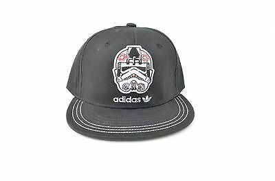 Adidas Star Wars Stormtrooper Black Cap Size Small 100% Cotton BNWT $19.99