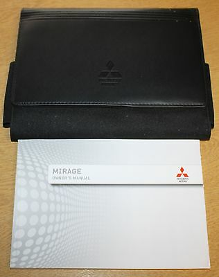 Mitsubishi Mirage Handbook Owners Manual Wallet 2012-2016 Pack 7488