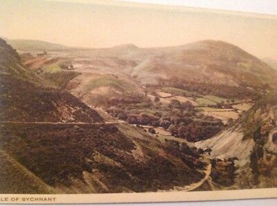 Sychnant, Conwy vintage postcard