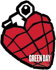 GREEN DAY grenade AIR FRESHENER 2 PACK official licensed merch packaged