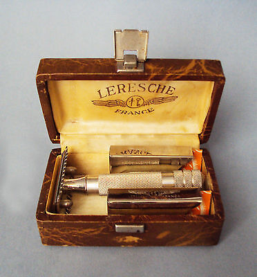 French LERESCHE #51 - safety razor open comb - 1930s