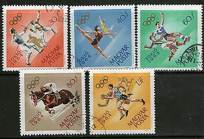 Hungary 5 1964 Olympic Games Tokyo - Used