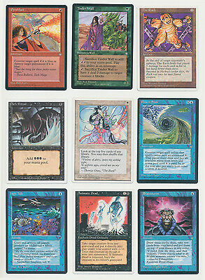 Magic the Gathering - Nine Vintage Deck Performance Enhancing Cards
