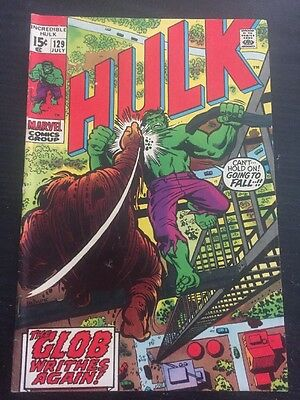 Incredible Hulk#129 Awesome Condition 6.0 Trimpe Art(1970) Leader App!!