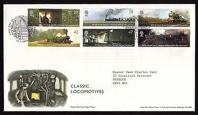 First Day Cover....Classic Locomotives (13th January 2004)