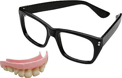 Austin Powers Accessory Kit - Glasses & Teeth