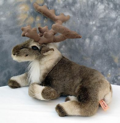 Large Realistic Reindeer Cuddly Soft Toy By Unique Quality Soft Toys.