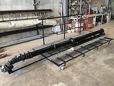 26 Metre Pneumatic Telescopic Roof Mounted Mast System, includes fitting